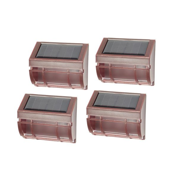 3142WRM4 - Mission Solar Wall Light 4-pack