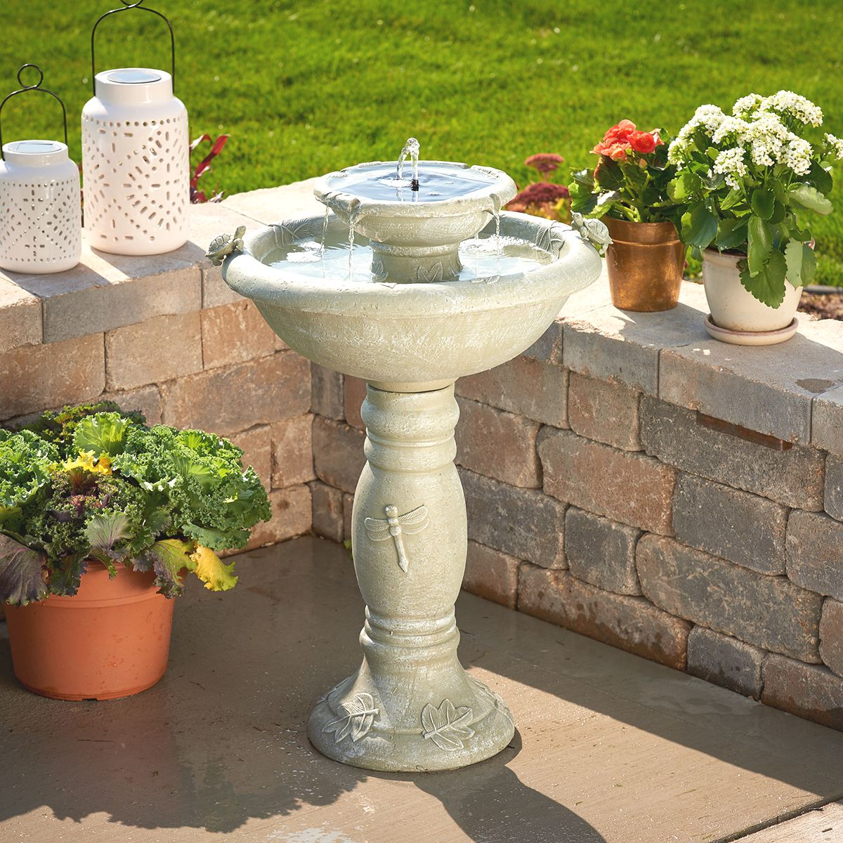 solar fountains hayneedle - HD 1200×1200