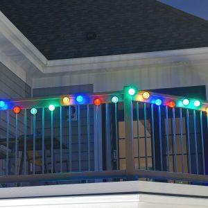 371MR20 - Solar String Lights - 20 LED Chinese Lanterns