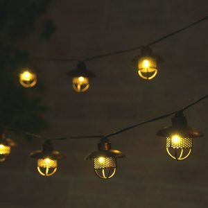 3768WR20 - Dante Solar String Lights - Professional Series