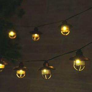 3768WR20 - Dante Solar String Lights - Professional Series