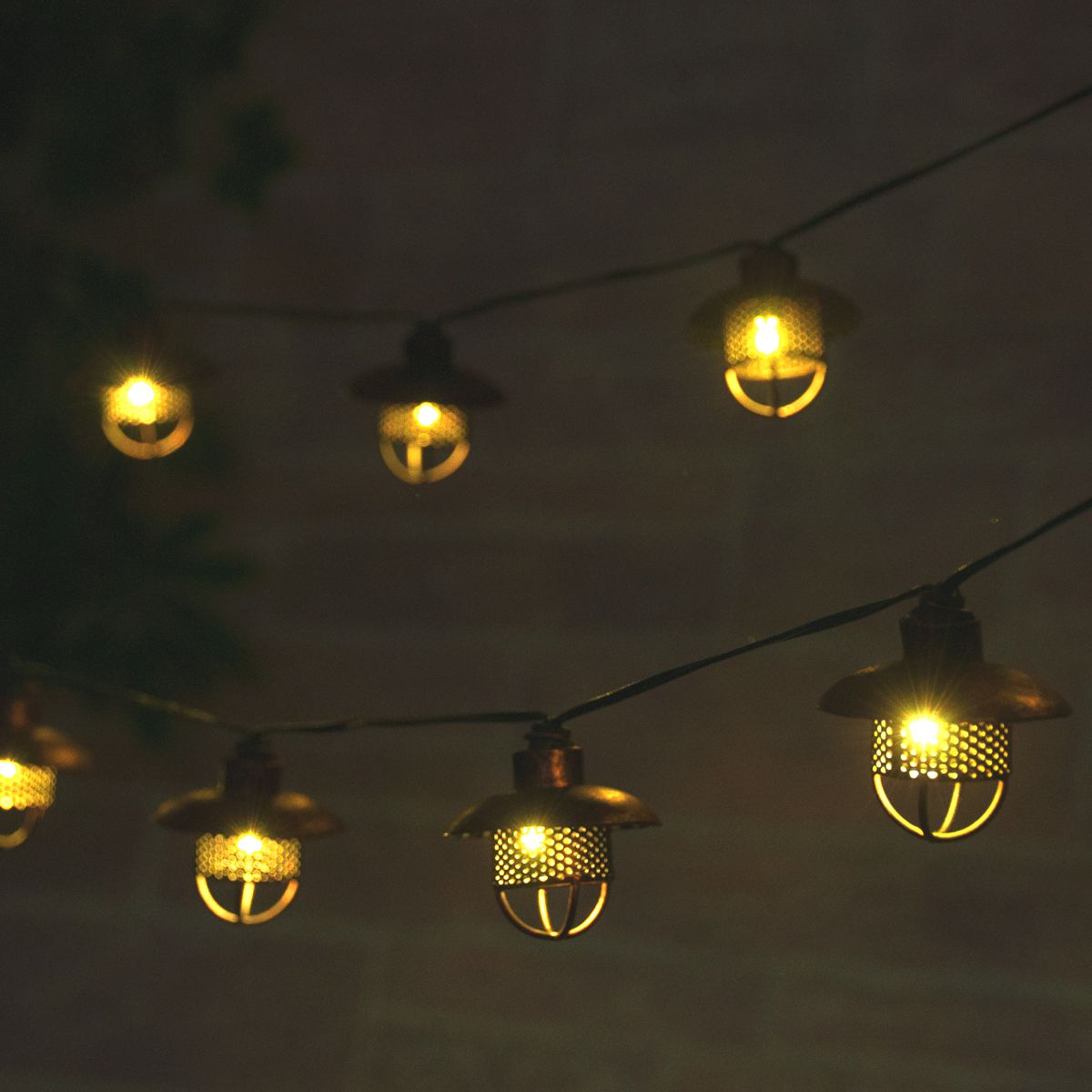 Dante Solar String Lights Professional Series Smart Living
