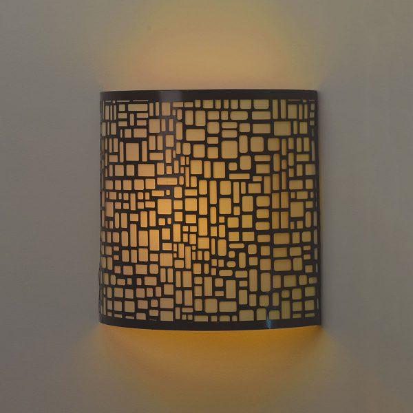 IEL-2901 - London Barrel Sconce - Amber light