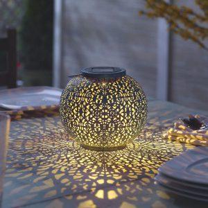 """3940WRM1 - Riad 7"""" Solar Lantern"""